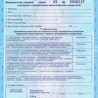 Медицинская справка для водительского купить Москва Внуково